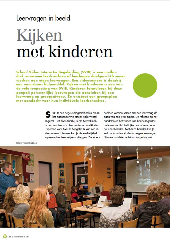 Kijken met kinderen, Traject bovenbouw, Vincent Klabbers