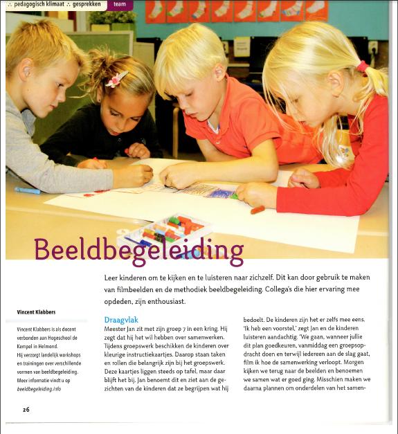 Kijken met kinderen, Praxisbulletin, Vincent Klabbers