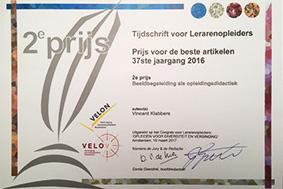 Veloncongres, Tweede prijs, Vincent Klabbers