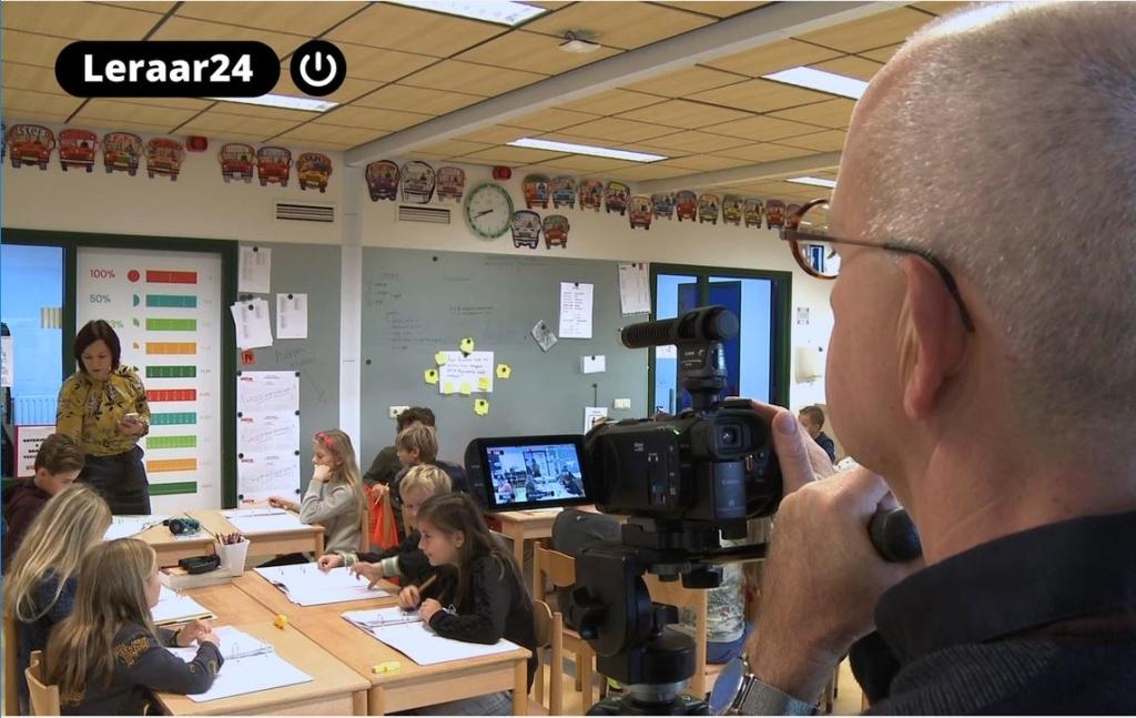 Kijken met kinderen, Beeldcoaching, beeldbegeleiding, peerfeedback, Vincent Klabbers, videobeelden,